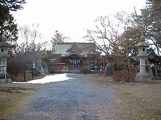 Hachinohe Domain - Miyagi-jinja in Hachinohe, on the site of Hachinohe Castle