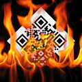 MobiLead QR-Fire 800x800 to Wikipedia mobile page.png