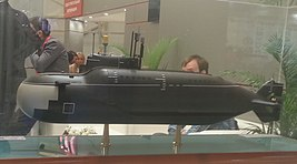 Model submarine project 865 to «Army 2015».JPG