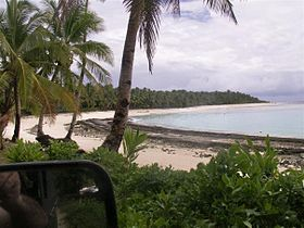 Mofmanu beach in Motusa, Rotuma.jpg