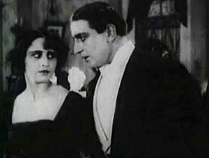 Pyotr Chardynin - Vera Kholodnaya and Ossip Runitsch in Chardynin's Molchi, grust... molchi (1918)