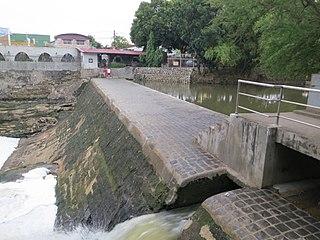 Prinza Dam dam in the Philippines along Zapote River between Bacoor, Cavite and Las Piñas, Metro Manila