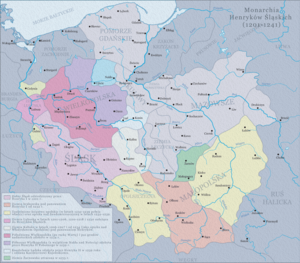 Przemysł I of Greater Poland - Polish duchies under the rule of Henry I and Henry II 1201-1241