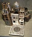 Monaci ebanisti di gerusalemme, modello reliquiario del santo sepolcro, 1650 ca..JPG