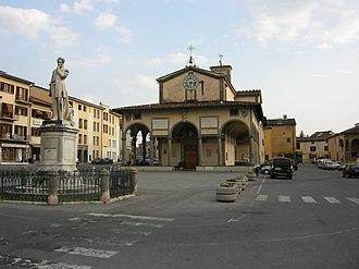 Monsummano Terme - Piazza Giusti.