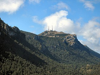 Ports de Tortosa-Beseit - Image: Mont Caro (enhanced)