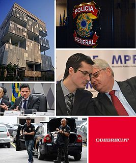 operation that has lead to numerous investigations into Petrobras regarding alleged corruption and payment of kickbacks