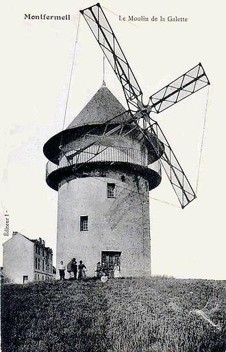 Sempin Windmill - The windmill in 1900