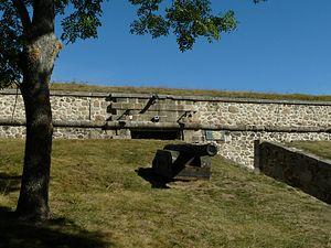 Glacis - Glacis, Mont-Louis Fortress, Pyrénées-Orientales, France