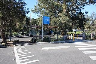 Montmorency railway station, Melbourne railway station in Montmorency, Melbourne, Victoria, Australia