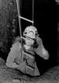 Montserrat Ubach a la primera exploració de l'avenc el 1963..tif