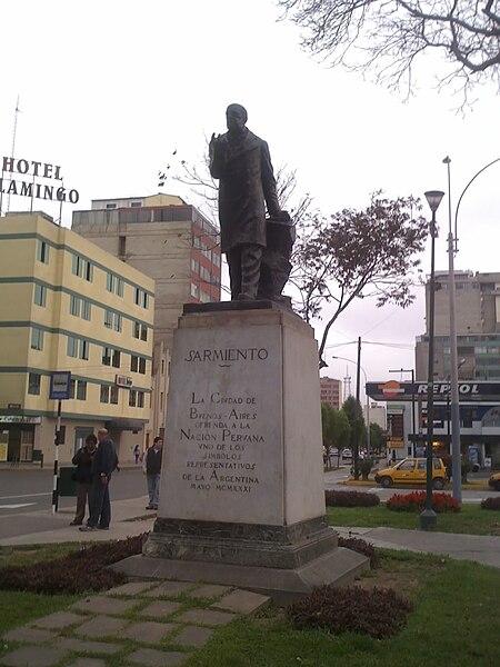 121 años de la muerte Domingo Faustino Sarmiento.