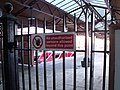 Moor Street Station - No Unauthorised persons allowed beyond this point (5269054535).jpg