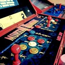 Mortal Kombat II arcade cabinet's gameplay control board