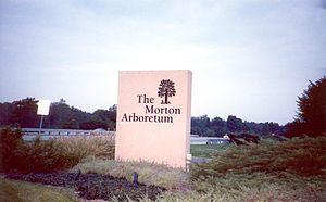Morton Arboretum - Image: Morton Arboretum main entrance