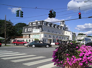 East Lyme, Connecticut - The Morton House Hotel in the village of Niantic has been in continuous operation for more than 100 years.