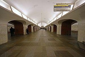 Borovitskaya (Moscow Metro) - Image: Mos Metro Borovitskaya 2011