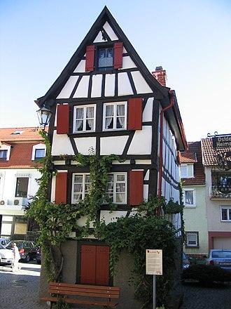 Mosbach - Image: Mosbach kickelhain
