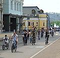 Moscow, Kadashi cyclists May 2010 01.JPG