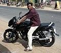 Motorcyclist -Tamil nadu 37India.jpg