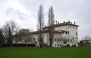 Luca Fancelli - Corte Ghirardina, Motteggiana, constructed by Luca Fancelli.