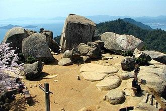 Mount Misen - Mount Misen summit