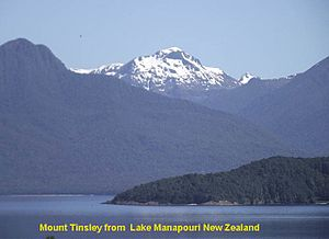 Beatrice Tinsley - Mount Tinsley from the Town of Manapouri