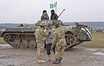 Mounted machine gunnery range BMP-2.jpg