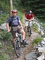 Mountin Biking to Morraine Lake - Flickr - Graham Grinner Lewis.jpg