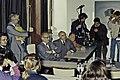 Mr CURIEN Ministre de la Recherche au collège Pierre Brossolette de Chatenay Malabry-49-cliche Jean Weber.jpg