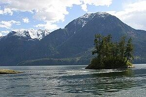 Jervis Inlet - Image: Mt Art