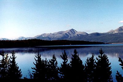 Mount Elbert is the highest peak of both the State of Colorado and the Rocky Mountains of North America.