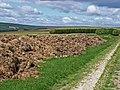 Muck heap on Lownorth Moor - geograph.org.uk - 218381.jpg