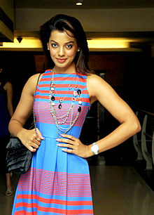 Mugdha Godse supporting Sandip Soparrkar's 'Dance for a cause'.jpg