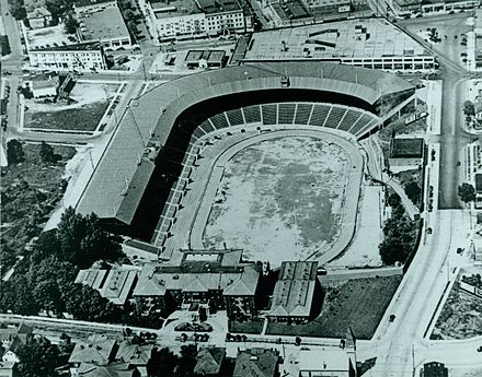 The stadium in 1940 Multnomah Stadium, 1940.JPG