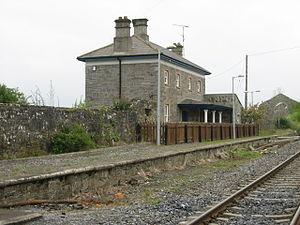 Multyfarnham - Image: Multyfarnham railway station