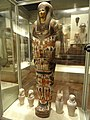 Mummy-case of Djedmaatesankh, musician, Western Thebes, Egypt, 22nd Dynasty, c. 850 BC - Royal Ontario Museum - DSC09731.JPG