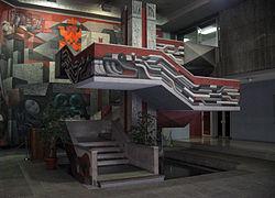 Presencia de am rica latina wikipedia la enciclopedia libre for Mural quetzalcoatl