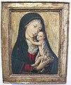 Museo regionale di messina, artista fiammingo, madonna col bambino, XV sec..JPG