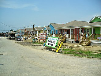Musicians' Village - Homes being built as part of the Musician's Village Project on 06/01/2007.