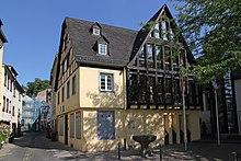 Das Mutter-Beethoven-Haus in Koblenz-Ehrenbreitstein (Quelle: Wikimedia)