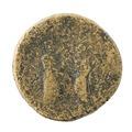 Mynt av brons, 119-138 - Skoklosters slott - 100206.tif