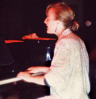 Myra Melford - Myra Melford in Helsinki in 1993. Photo by Michael Wilson