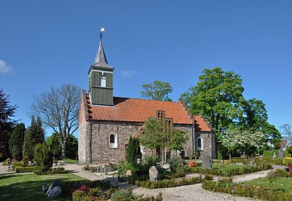 How to get to Nødebo Kirke with public transit - About the place