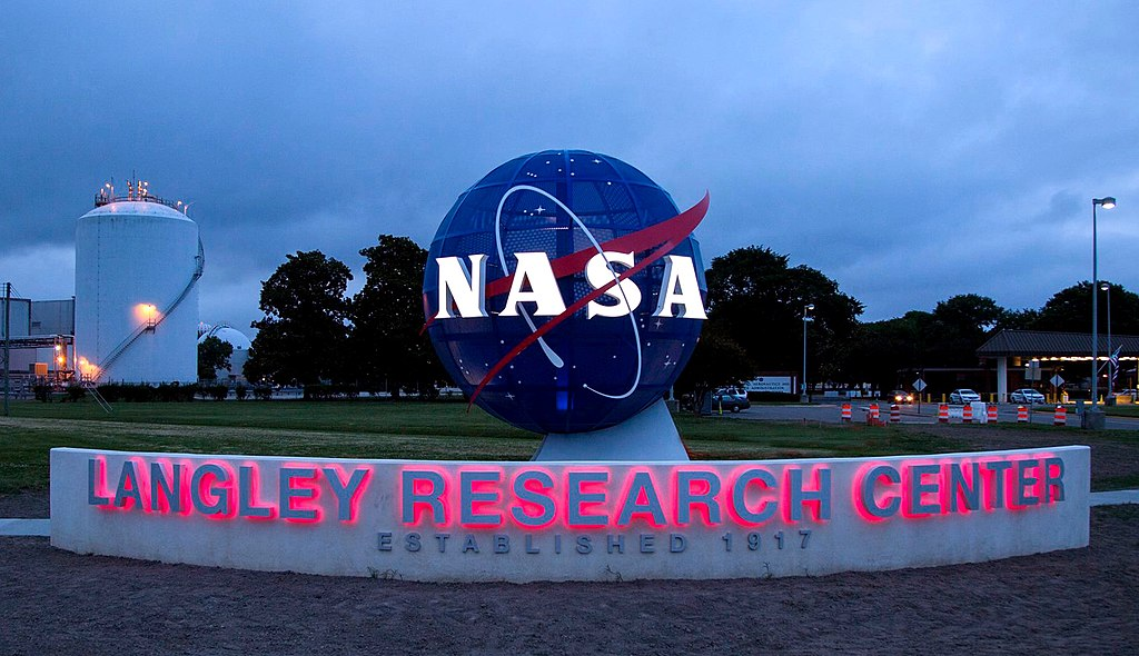 NASA Langley Research Center entrance (2017)