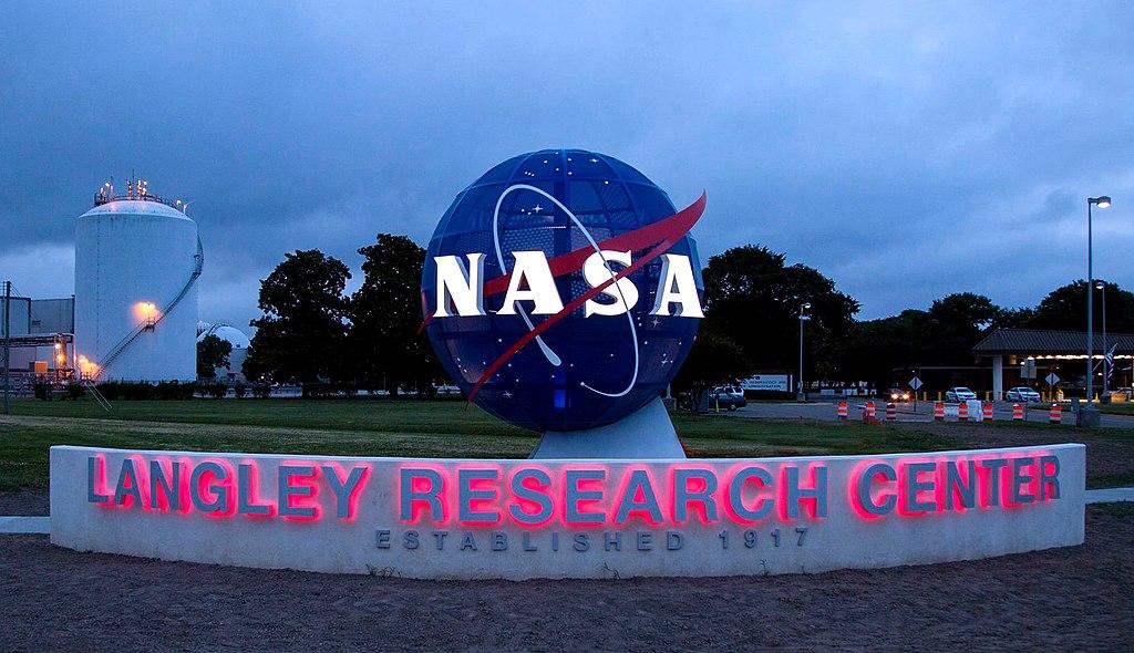 NASA Langley Research Center entrance (2017)