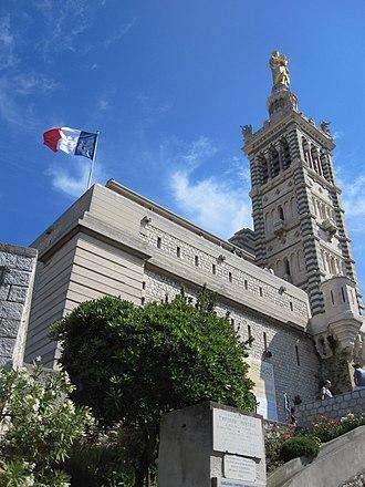 Tourism in France - Notre-Dame de la Garde, Bouches-du-Rhône