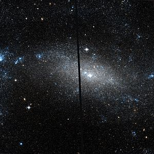 NGC 4395 - NGC 4395 by HST