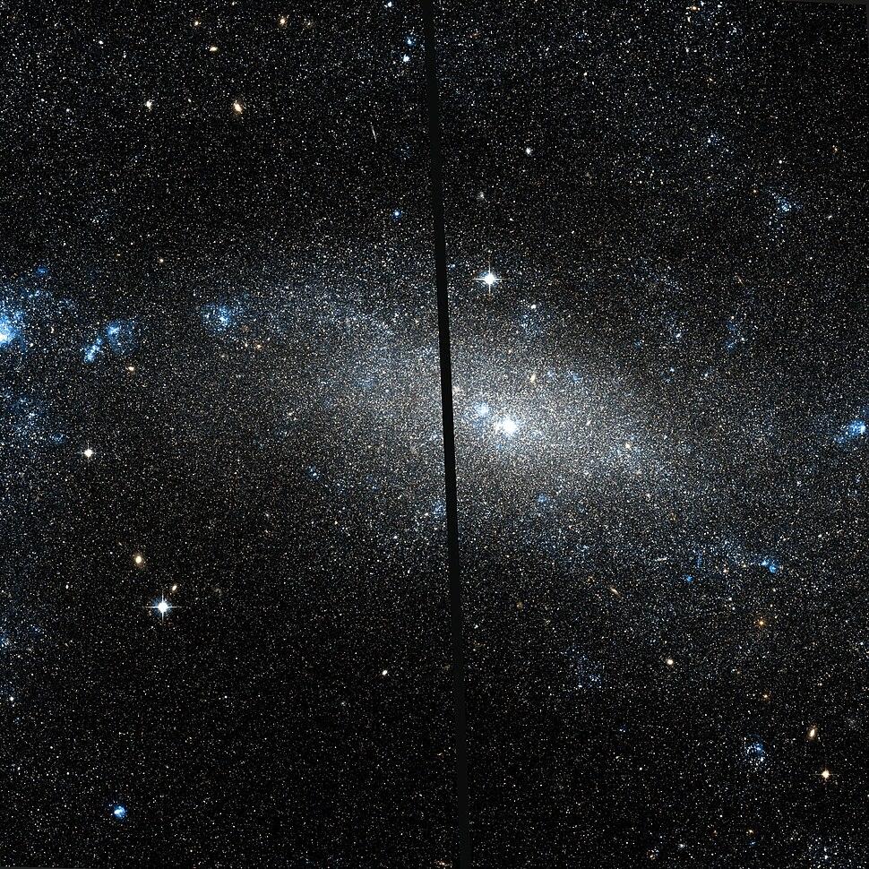 NGC 4395 Hubble WikiSky