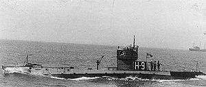 USS H-9 underway, circa 1922